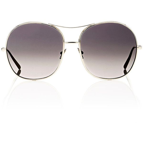 a8d437bbc526 Chloé Women s Nola Navigator Sunglasses ( 396) ❤ liked on Polyvore  featuring accessories