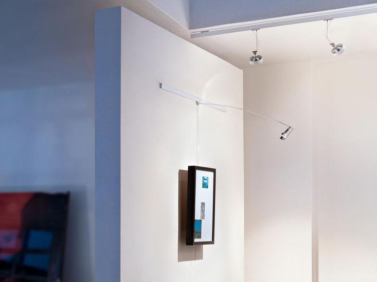 Lampada da parete a led a binario per quadri lightlight® wall ...