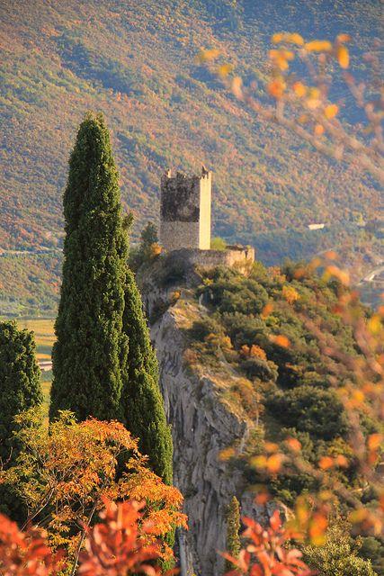 autumn, Castello di Arco, Trentino-Alto Adige, Italy