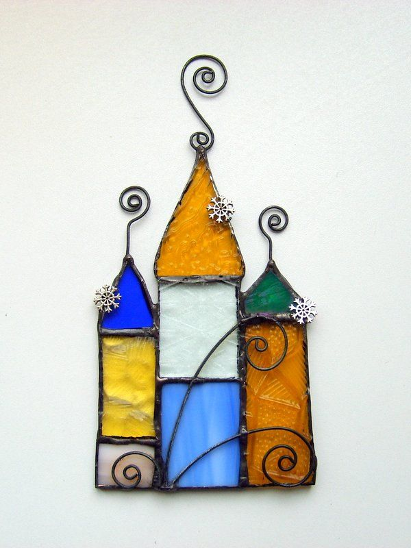 FREE SHIPPING EVERYWHERE Stained glass suncatcher by SaintGlass