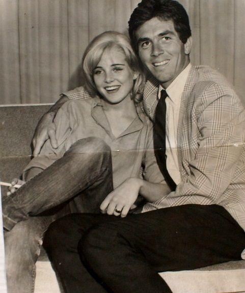 Sue Lyon And Husband Hampton Famcher Sue Lyon