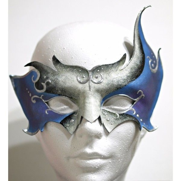 Elf mask ❤ liked on Polyvore featuring costumes, masks, accessories, medieval, leather costumes, santa's elf costume, masquerade halloween costume, masquerade costume and santas helper costume