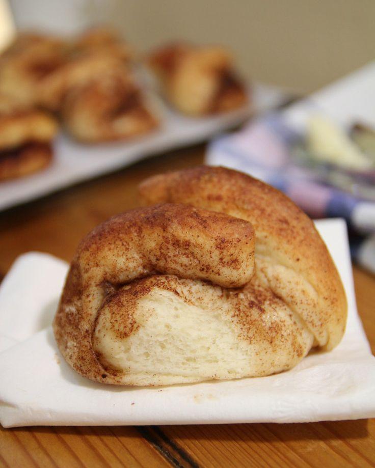 Traditional Cinnamon Bulkas (yeast buns) for #breakingthefast on #YomKippur