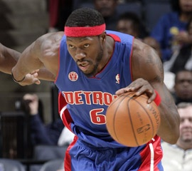 Ben Wallace, NBA champion center and outstanding defensive player... One of my faves...