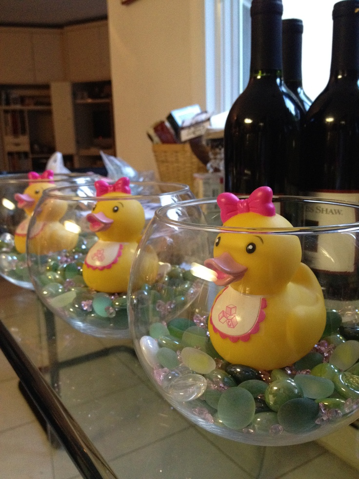 Best pink rubber duck baby shower images on pinterest