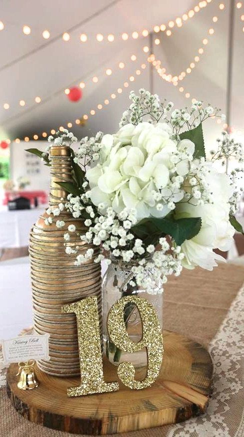 Wooden Glitter Table Numbers Wooden Table by WorryLessCraftMore