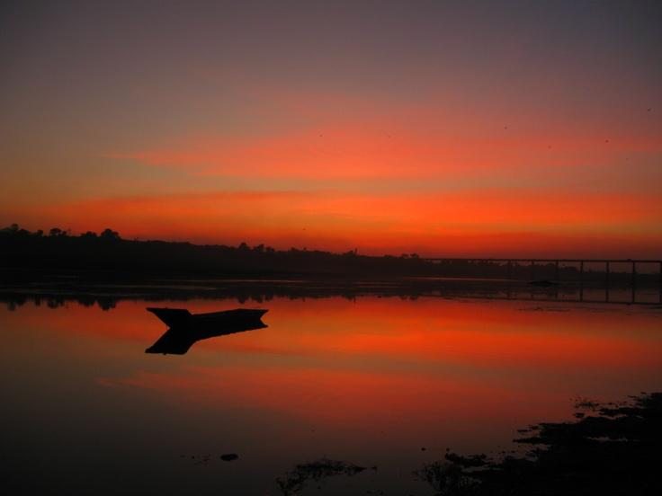 Sunset view @ garudeshwar