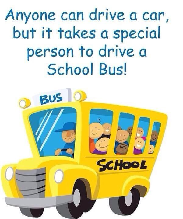 Sayings For School Bus Drivers