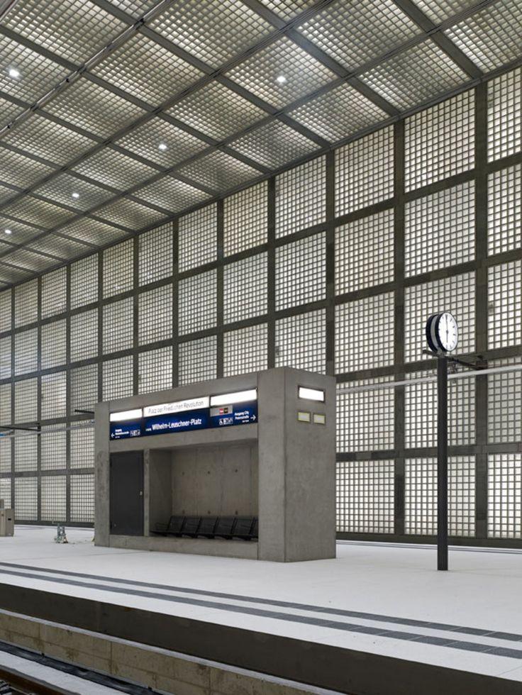 Max Dudler Architekt, Stefan Müller · Wilhelm-leuschner-Platz station · Divisare