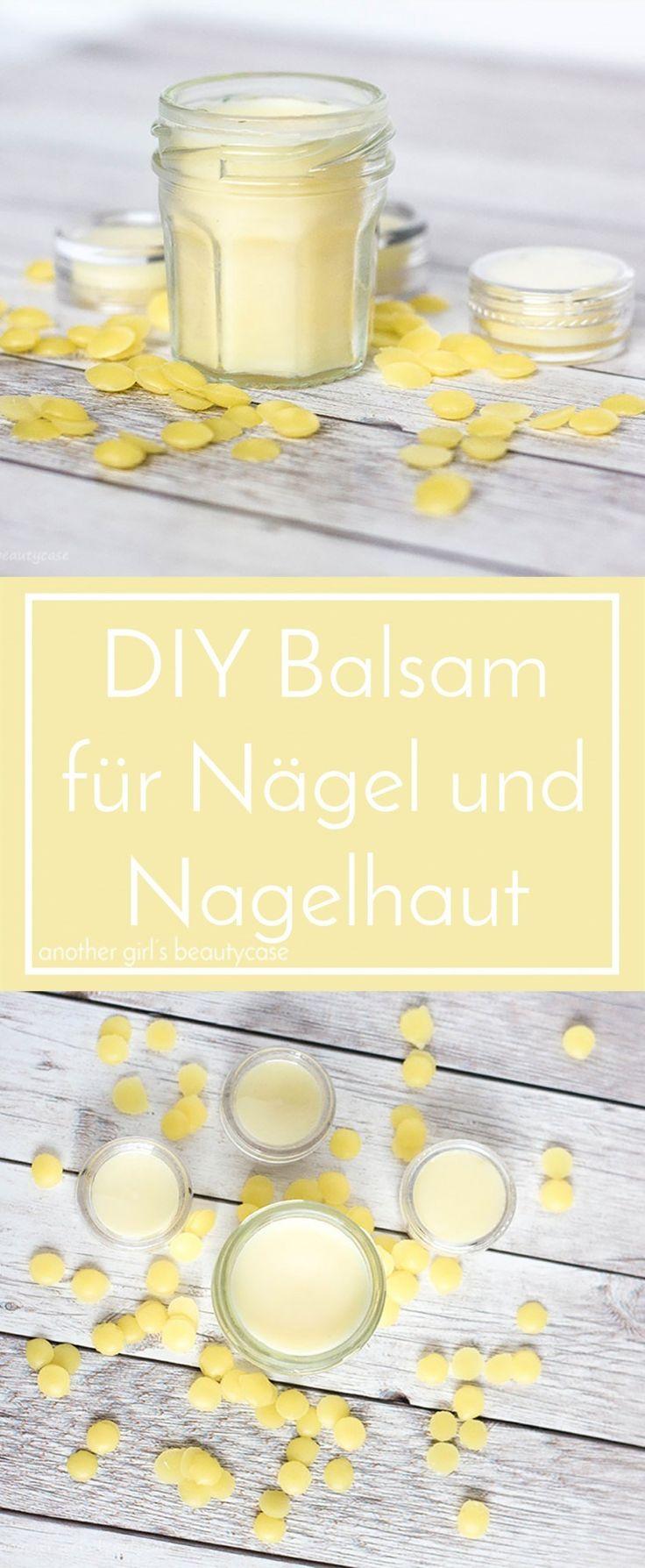 DIY Nagelpflege für schöne Nägel und Nagelhaut