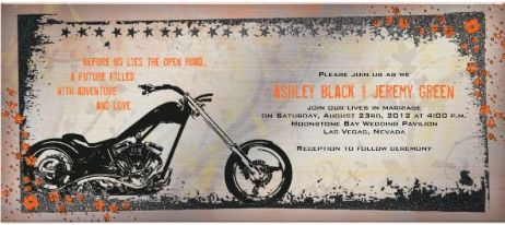 Superior Marriage Harley Davidson Wedding Invitations Read More Http
