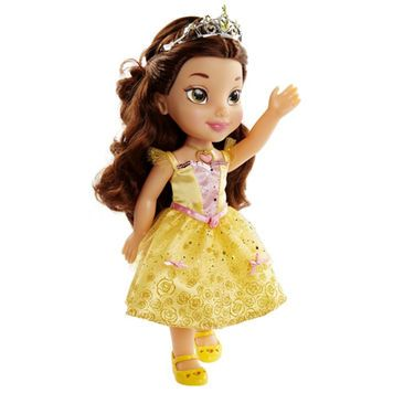 Disney Princess Sing and Shimmer Toddler Doll - Belle