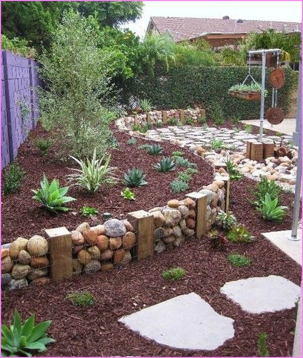 25 best cheap landscaping ideas on pinterest cheap for Garden designs for small backyards