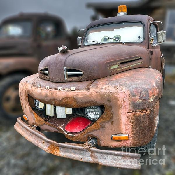 Ugly Classic Kustom Car