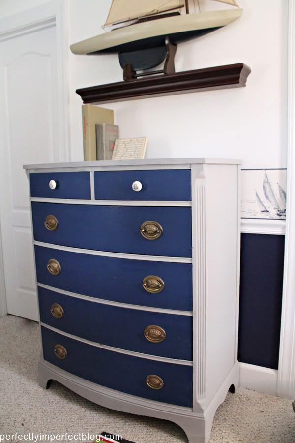 Dresser Chalk Paint Paris Grey Color