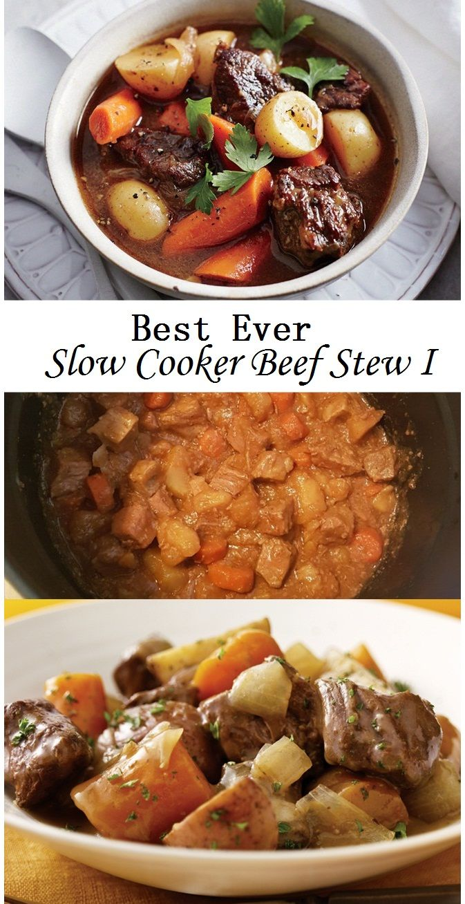 Best Ever Slow Cooker Beef Stew I Resep