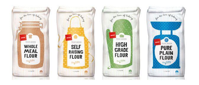 Tendances en alimentation - Le saint publicité et design