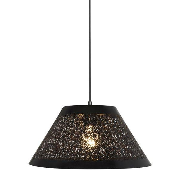 OMBRA - Lampa wisząca Czarna Corep