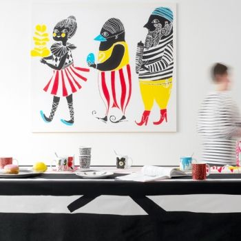 Marimekko Kulkue fabric | Marimekko Fabrics | Fabrics | Decoration | Finnish Design Shop