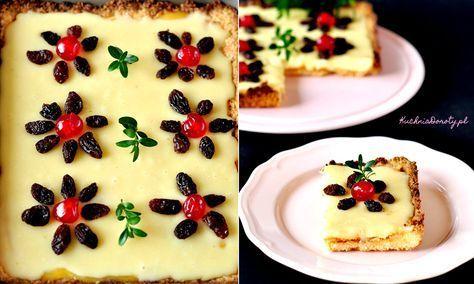Ten mazurek to sama tradycja, ciasto pochodzi z przepisu Neli Rubinstein, masa z mlekiem w proszku, jest chyba jedną z najbardziej znanych mas do mazurków.