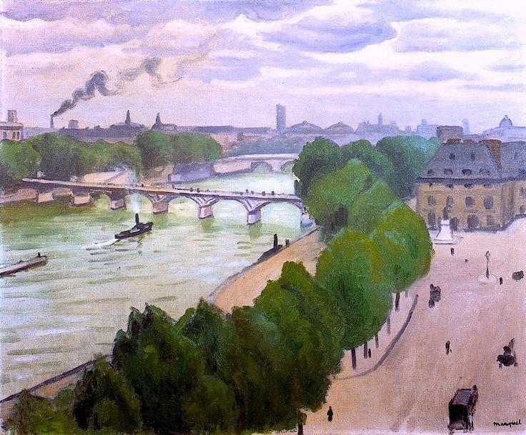 Paris, Le Pont de l'Institut Albert Marquet - 1916