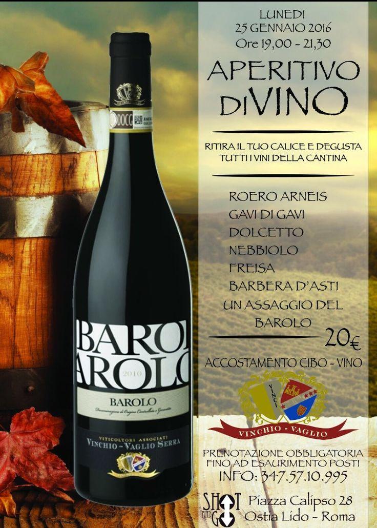 #degustazione allo shot and go con i vini dell'azienda #vinchiovaglio @Ostia