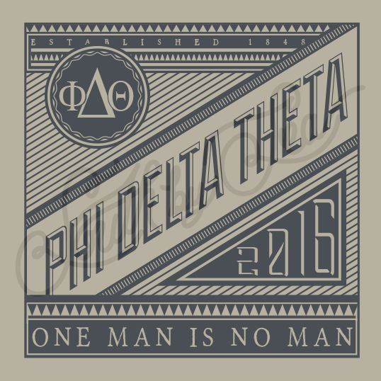 Fraternity Recruitment Phi Delta Theta Vintage Frame South By Sea