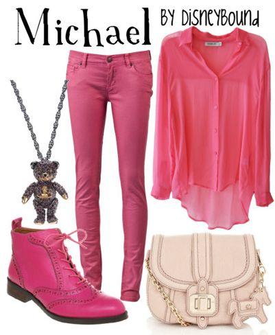 by Disney Bound: Disney Outfits, Disney Style, Disneybound Board, Peterpan, Disneybound Fandom Fashion, Disney Bound, Necklace, Disneybound Fashions, Disney Fashion
