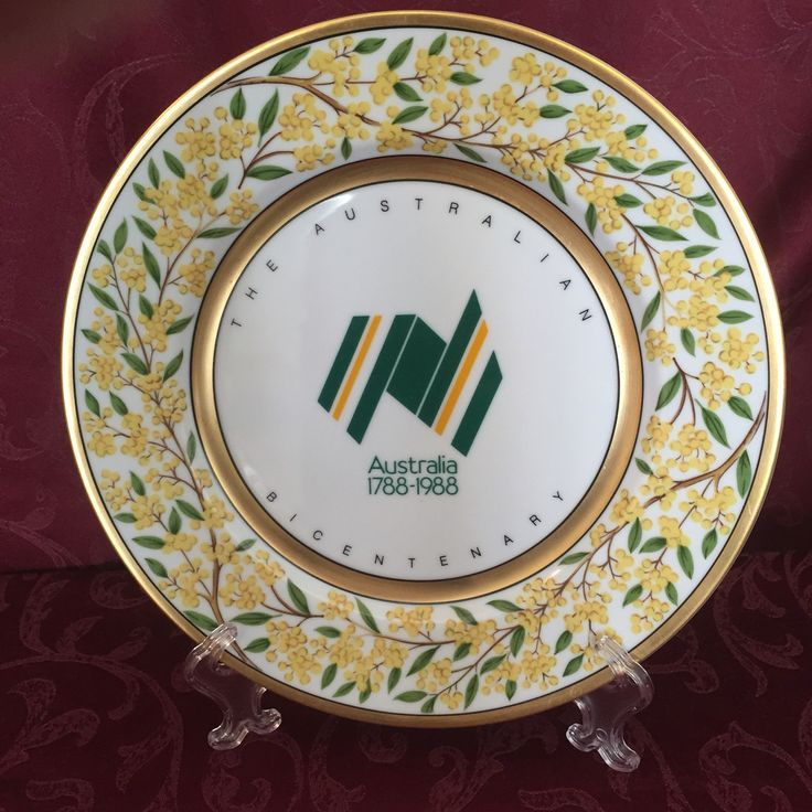 1988 Westminster Collectable plate golden wattle