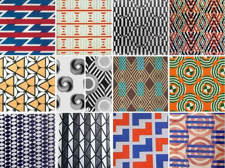 Варвара Степанова «Текстильные проекты, рисунки для ткани»