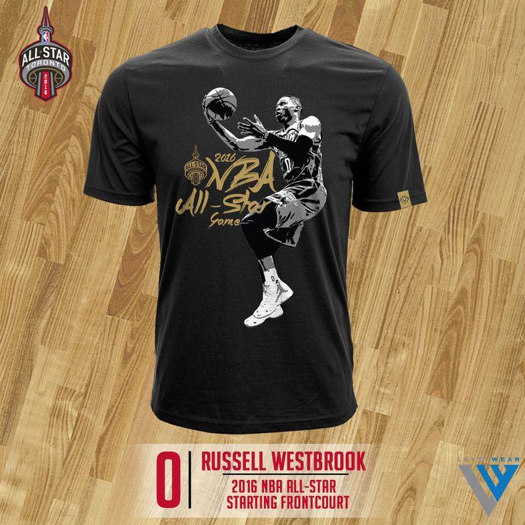 Russell Westbrook Levelwear 2016 Nba All Star T Shirt