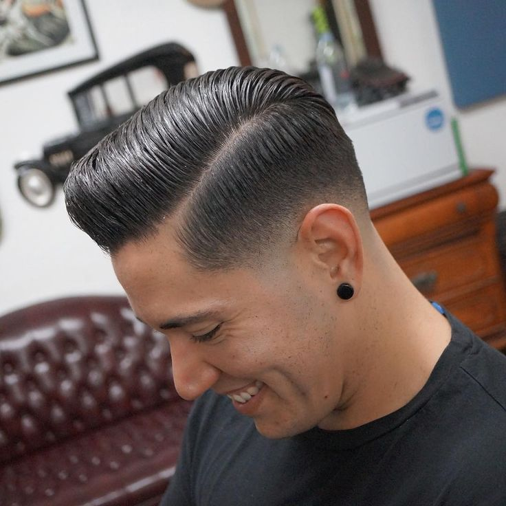 Pomade Hairstyles 123 best hairstyles images on pinterest mens haircuts hairstyles and barber shop Find This Pin And More On Men Haircut By Capecodlatino