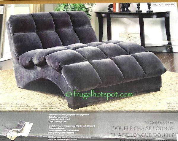 Costco Bainbridge Double Chaise Lounge 349 99 Chaise