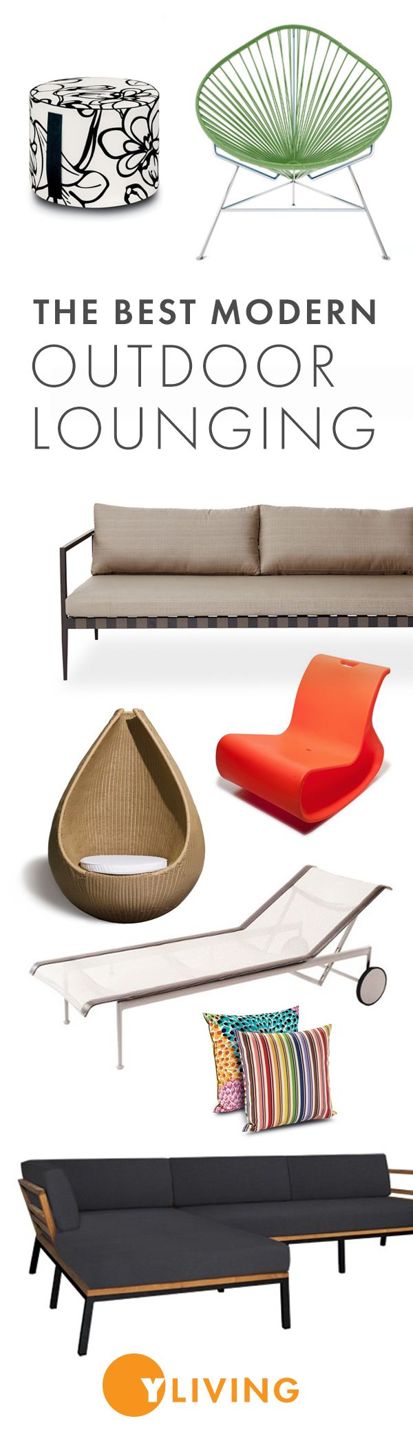 Shop the best in modern Outdoor Lounge Furniture at YLiving.com Save on thousands of top designs today!
