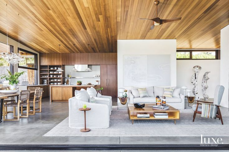 Evoking a modern farmhouse aesthetic, a Bay Area home mixes traditional styles with clean lines and flexible spaces.