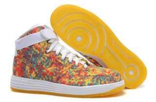 8bcd56d38748 Nike Lunar Force 1 Hi Light Crimson Tour Yellow White 647902 601 Mens Womens  Sneakers