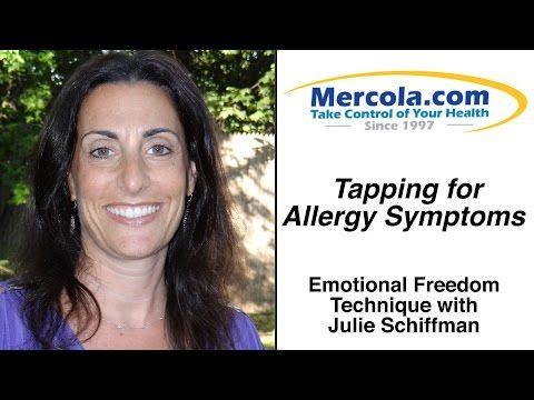 Julie Schiffman Demonstrates EFT, Tapping For Seasonal Allergy Symptoms - YouTube