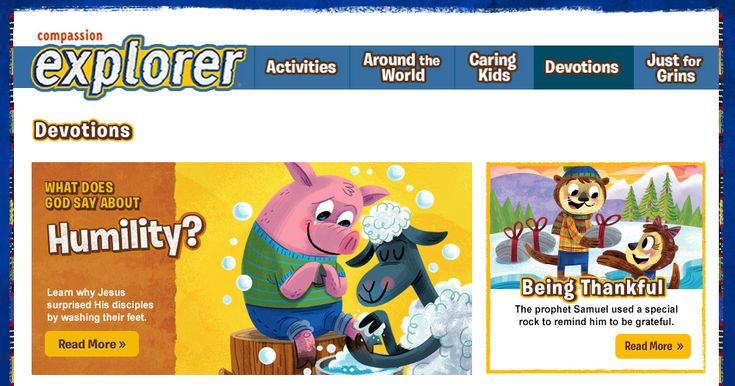 I'm always on the lookout for free short devotions for kids. Today I'm sharing a great resource for these short devotions from Compassion International's Compassion Explorer Kids Magazine section of their website. Each devotion answers a question your children may have about the world, about their emotions, or about basic biblical concepts like serving. The site is …