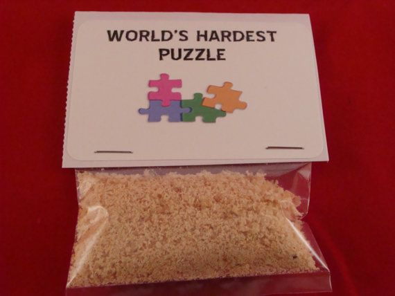 World's Hardest Puzzle Puzzle Novelty Gift by TylersToys4Kids