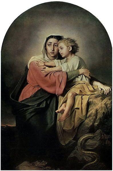 Vasily Perov (1833–1882) 1867 File:Перов Христос.jpg