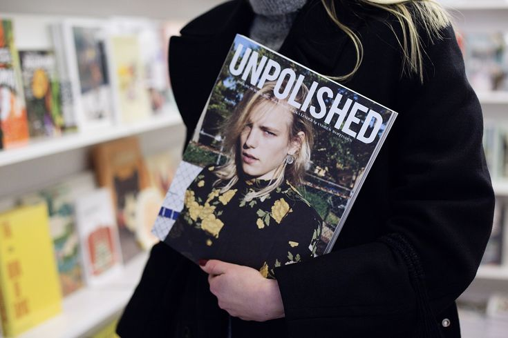Shopping at magazine store, Unpolished Magazine