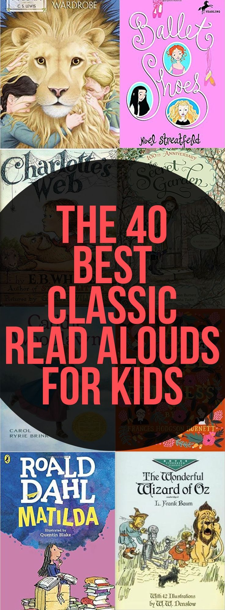 The 40 Best Classic Read Alouds for Kids