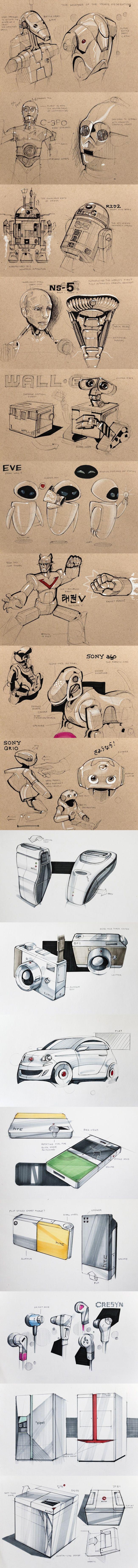 SKETCHS & ILLUSTRATIONS / Sketches - 1 — Minimally Minimal