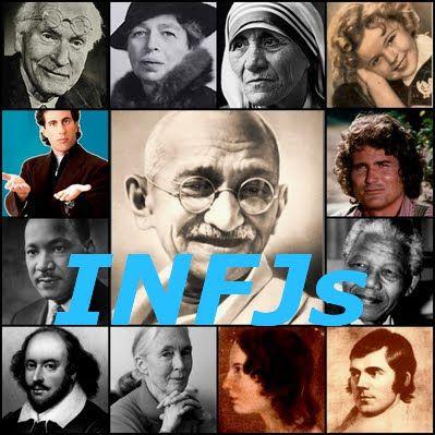 Famous INFJs.  http://www.bradgarbus.com/Personal-Details/personality-profile/INFJ/famous-infjs