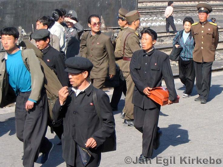 North Korea people