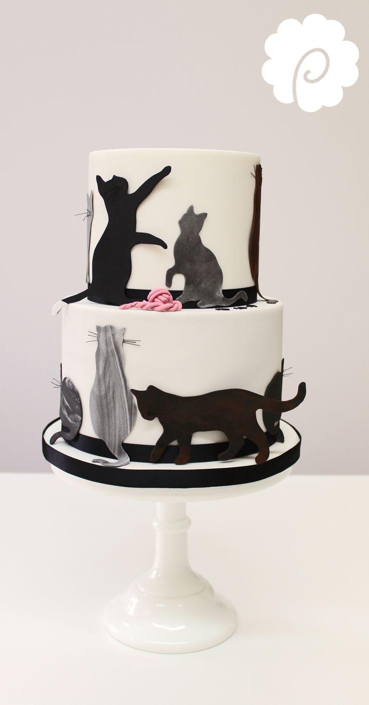 Black Cat Cake Decorations