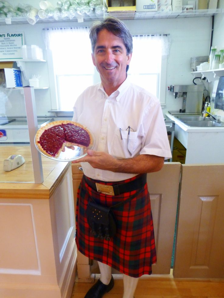 Raspberry Cream Cheese Pie is a must have dessert at the Prince Edward Island Preserve Company