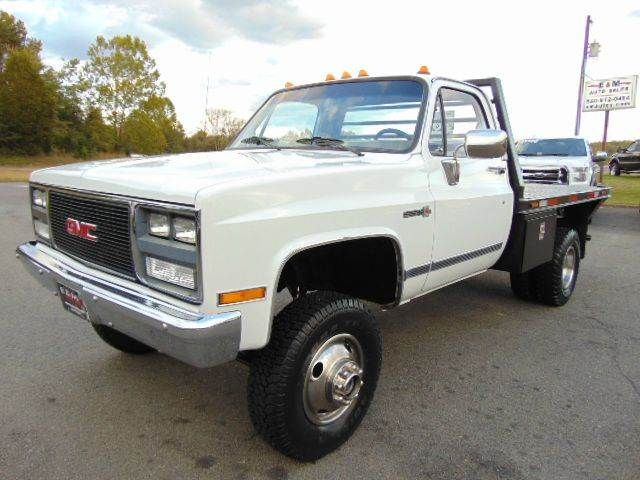 1988 Gmc Sierra 3500 V3500 Cab Chassis 4x4 For Sale By E And M Auto Sales Locust Grove Va Gmc Trucks