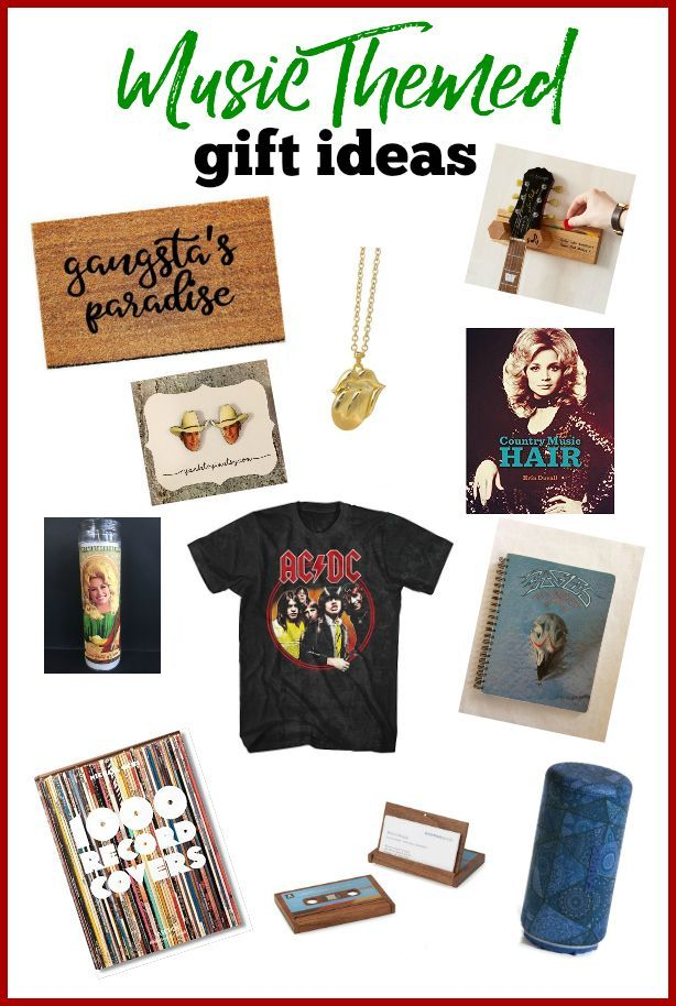Music Gifts Music Themed Gifts For People Who Love Music Music Gifts Diy Holiday Gifts Music Themed