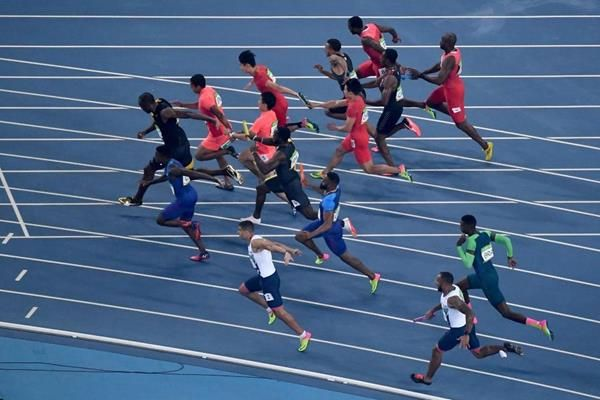 4x100m at Rio 2016